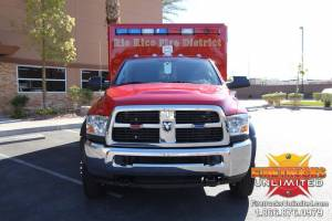Rio Rico F.D. Wheeled Coach Ambulance Remount (Dodge)