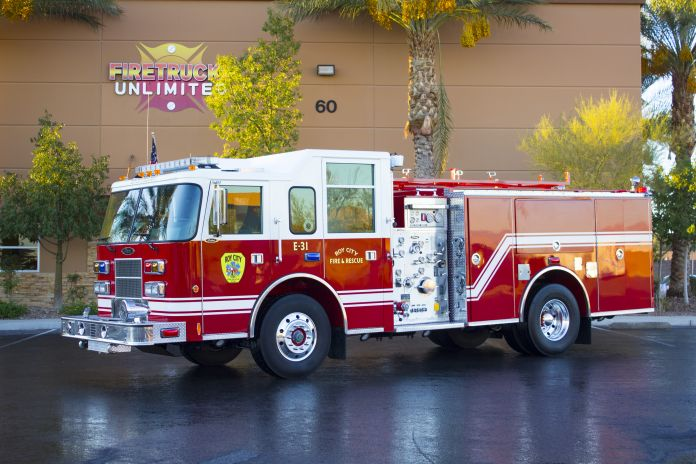 Roy City Pumper Refurb