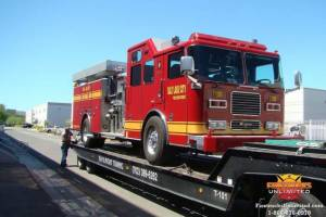 Salt Lake City Seagrave Firetruck