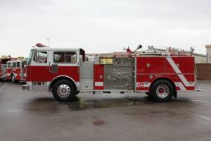 Santa Monica Fire Department Seagrave Pumper Refurbishment
