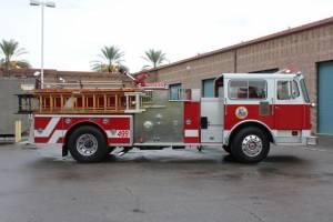 Santa Monica Fire Department Seagrave Pumper Refurbishment