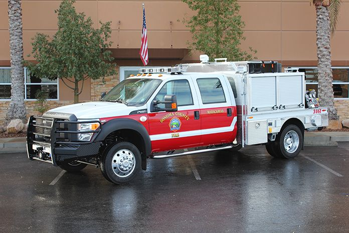 Sonoma County F.D. Brush Truck