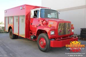 U.S. Navy Ford L8000 Hazmat Refurbishment
