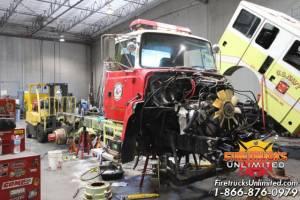U.S. Navy Ford L8000 Hazmat Refurbishment