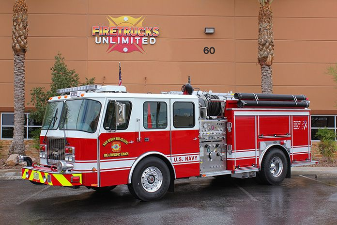Us NAvy E-One Pumper Refurbishment