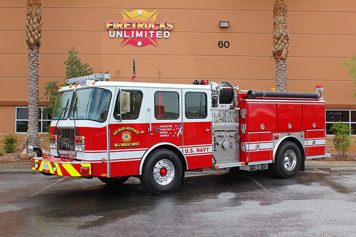 US Navy E-One Pumper Refurb