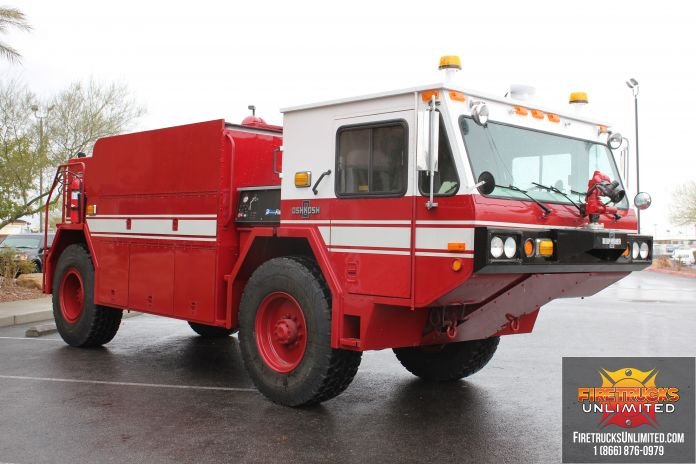 High Pressure Fire Truck : Us navy p wildland conversion with ultra high pressure