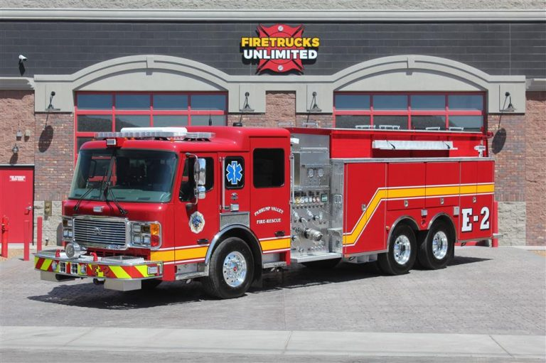 Pahrump Valley Fire & Rescue Services Saves $350,000 by Refurbishing Fire Truck