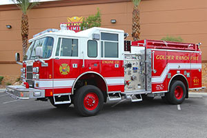 1087 Golder Ranch Pierce Pumper Refurbishment