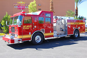 Salt Lake City Seagrave Pumper Refurbishment