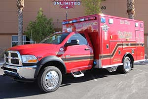Rio Rico Fire & Medical Ambulance Remount