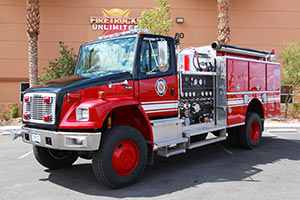 Lincoln County Fire District - Freightliner Quality 4x4 Pumper