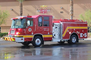 Pahrump Valley Fire & Rescue - 1998 Pierce Quantum Refurbishment #1174