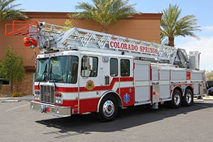 1175 Coloardo Springs Fire Department 1999 HME Aerial Refurbishment