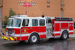 U.S. Navy - E-One Pumper Refurbishment #1188