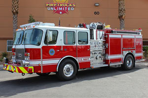 U.S. Navy E One Pumper Refurbishment 7303194