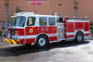 US Navy E-One Pumper Refurbishment 7303180