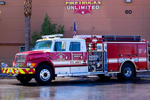 U.S. Navy 2002 Pierce Pumper Refurbishment