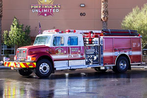 U.S. Navy 2002 Pierce Pumper Refurbishment #1226