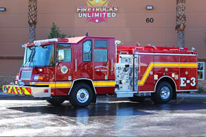 Pahrump Valley Fire & Rescue - 1998 Pierce Quantum Refurbishment