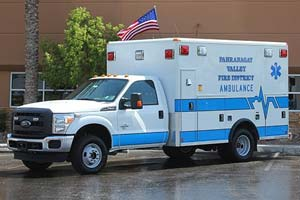 Pahranagat Valley Fire Department Ambulance Remount