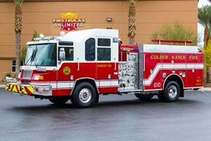 Golder Ranch Fire District - 2001 Pierce Quantum Refurbishment 1257