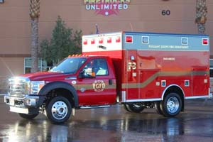 Pleasant Grove Fire Department Ambulance Remount 1272