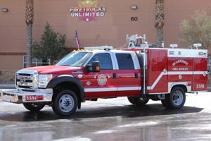 Quartzsite Fire Rescue 2002 Type 6 Remount