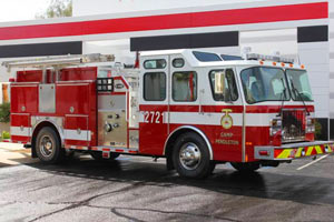 1293 USMC 1998 E-One Pumper Refurbishment