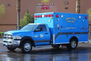 1296 Storey County Fire District - Ambulance Remount