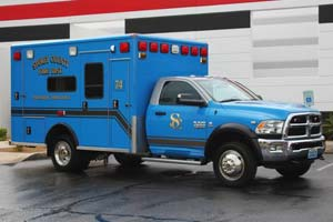 1298 Storey County Fire District Ambulance Remount