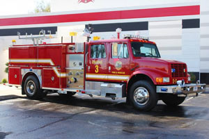 National Security Technologies 1994 E-One Pumper #1299