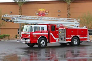Wickenburg FD 1986 E-One Aerial Refurbishment