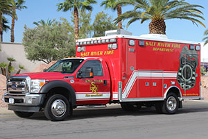 Salt River Fire Department Ambulance Remount 1335