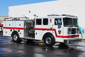 Apple Valley Fire District - Seagrave Pumper Refurbishment #1337