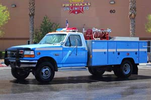 1997 Ford F350XL 4x4 Brush Truck For Sale