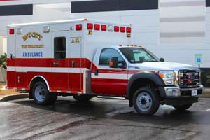 Roy City Fire Department – Ambulance Remount