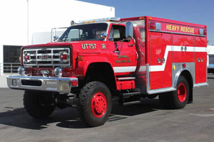 1354 Wickenburg Fire Department – 1986 International/E-One Rescue Conversion