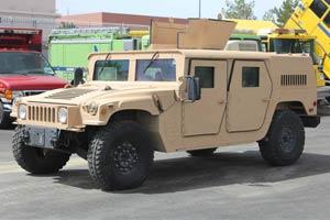 Humvee Repaint