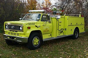 1373 1986 Chevy C70 Pumper For Sale