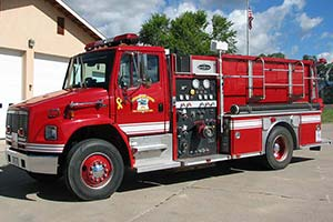 1999 Becker Fire Pumper For Sale