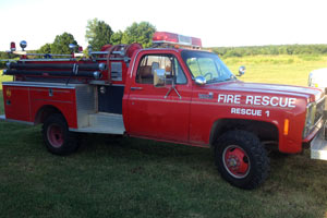 1979 Chevy/Pierce Mini Pumper For Sale