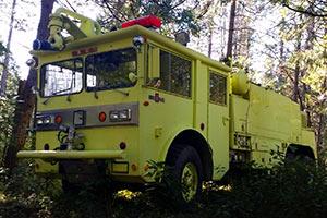 1396 1976 Oshkosh M1500 ARFF