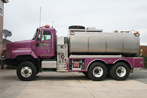 2005 International 5600 Water Tanker
