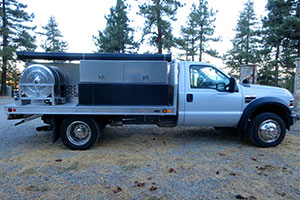 2008 Ford F550 Type 6 with CAFS