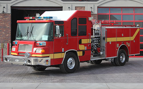 Fire Truck Refurbishment: 1999 Pierce Quantum
