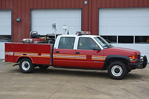 Used Cab And Chassis Trucks For Sale >> 1997 GMC 3500 4x4 Mini Pumper For Sale #1862 - Firetrucks ...
