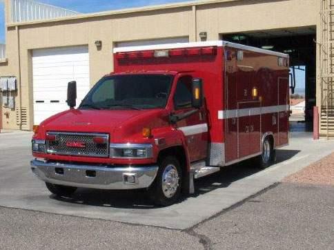 2008 GMC-TAYLOR MADE AMBULANCE FORE SALE #1907 | Firetrucks