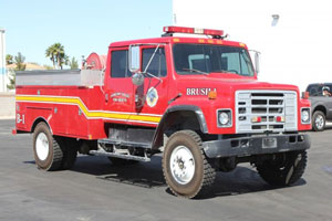 1987 International Brush Truck