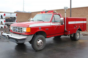 1988 fORD 4X4 Brush Truck For Sale